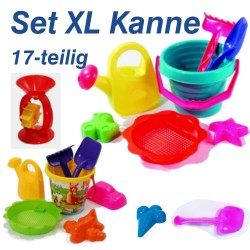 Eimergarnitur Set XL-Kanne...
