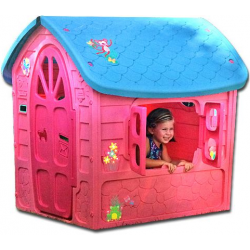 Kinderspielhaus rosa extra...