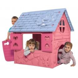 Kinderspielhaus rosa