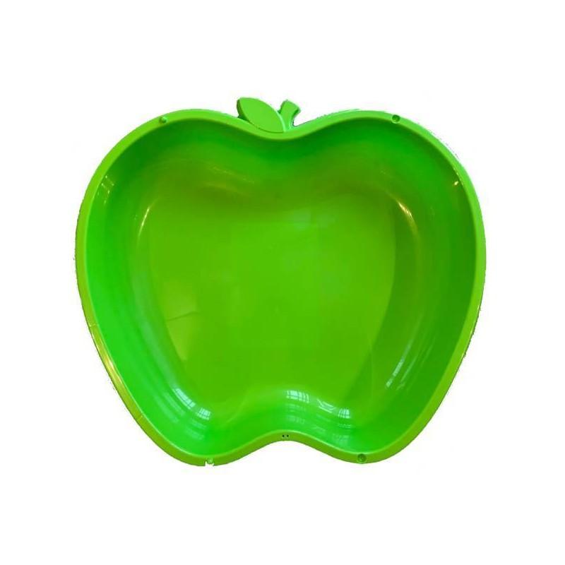 Apfel Sandkasten Planschbecken XL grün