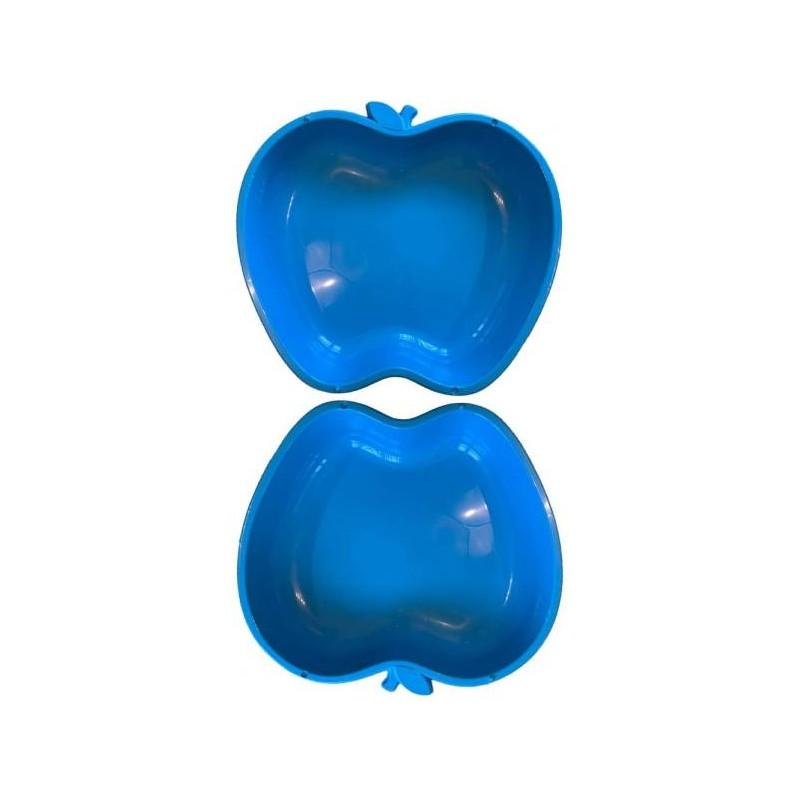 Apfel Sandkasten Planschbecken XL 2x blau