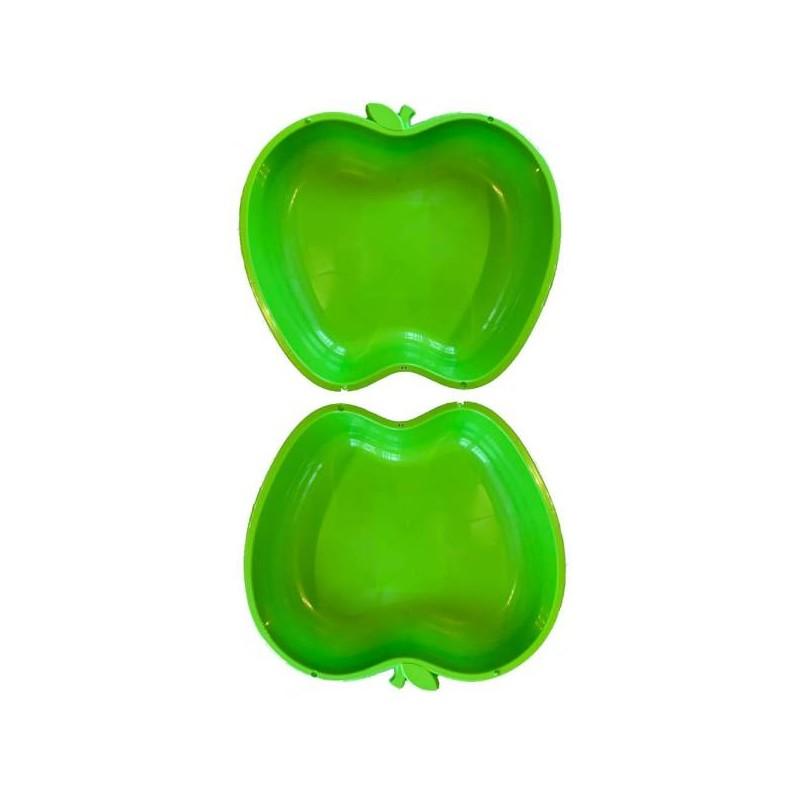 Apfel Sandkasten Planschbecken XL 2x grün